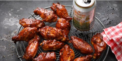 Bitburger grillt: Spicy Beer Chicken Wings
